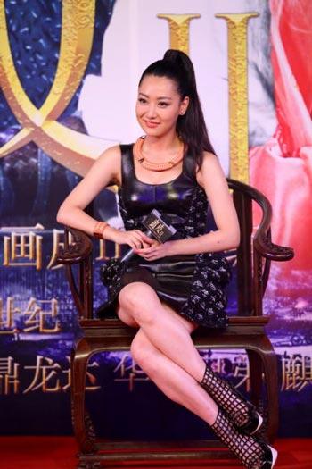 """""""京城四美""""白冰结婚一月宣布怀孕 传曾被成龙潜规则"""
