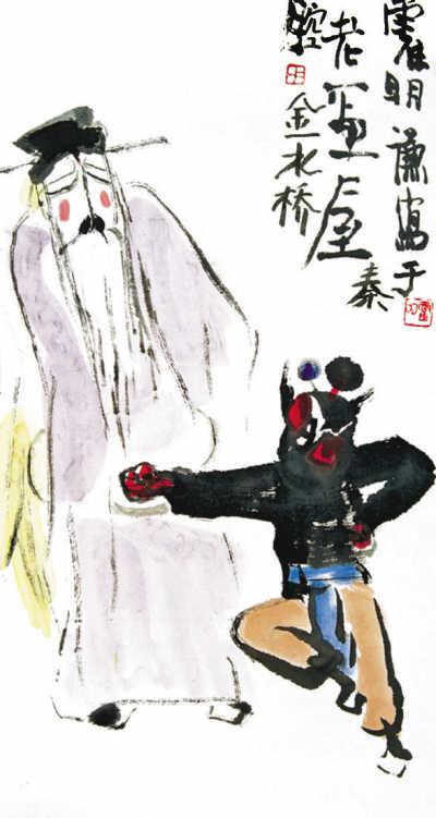 """秦腔:源流可追溯到先秦时代 被誉为""""百戏之祖""""(1)_传承_光明网"""