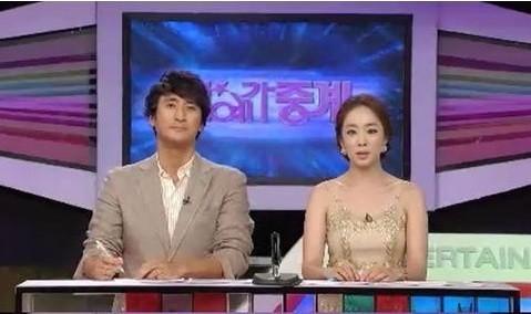 朴主播av_韩国女主播朴恩英穿一身杏金色的衣服,让观众吓得以为她没穿衣服.