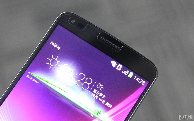6英寸曲面巨屏四核强机 LG G Flex评测