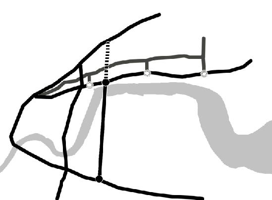 隧道简笔画图片大全
