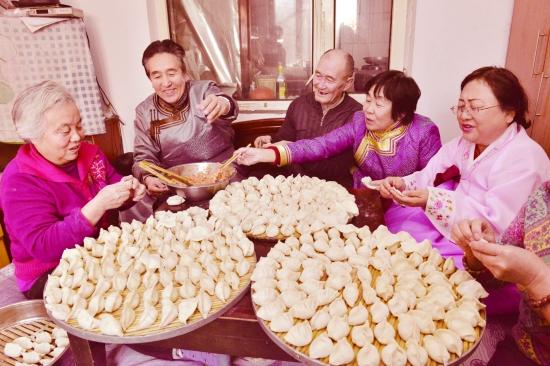 冬至大过年汤圆饺子卖断货