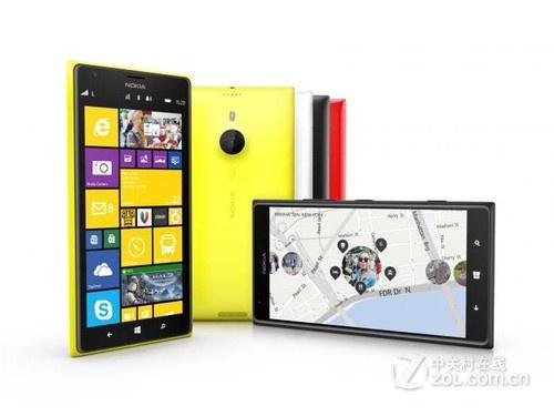 图为:诺基亚Lumia 1520