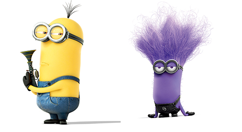 《神偷奶爸2》小黄人小紫人