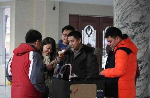 天津3D人像打印展火热来袭 体验3D打印魔力 组图