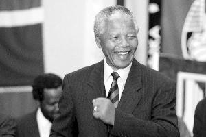 已故南非前总统纳尔逊・曼德拉 (资料图片)
