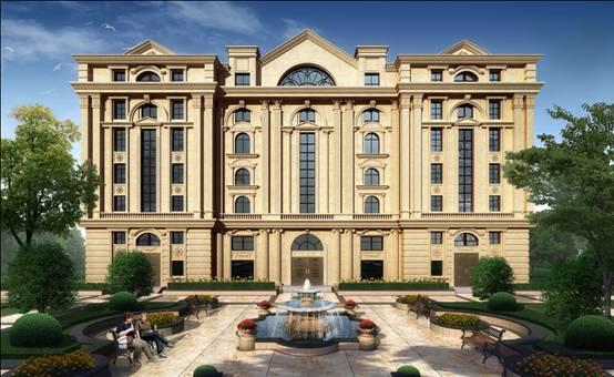 形成了一个新的总部型别墅办公楼集聚区;张江集电港办公楼别墅二期层一项目中式图片