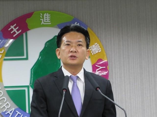 民进党发言人林俊宪 图片来源:台湾《今日新闻》