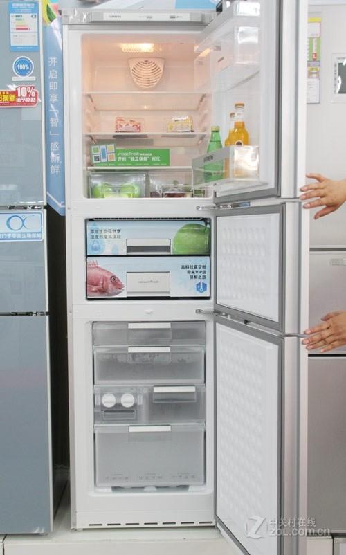 冰箱打开全貌西门子