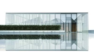 美术馆透视效果图