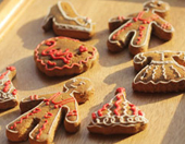 NO.008:圣诞节学做姜饼饼干