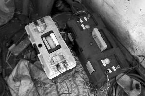 警方查获的变压器