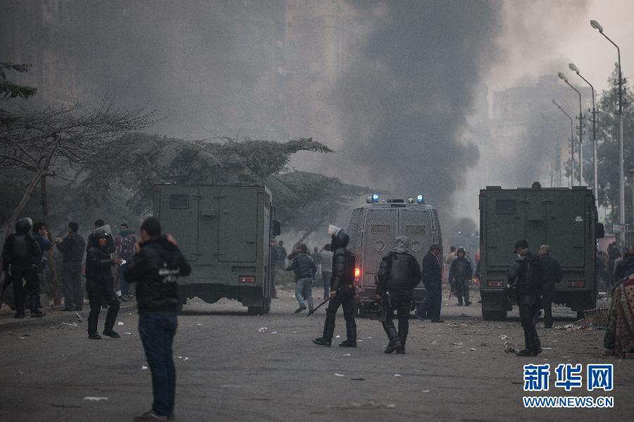 埃及穆兄会支持者与军警发生冲突 已致3人死亡(组图)