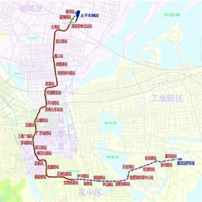 2号线线路图-轨交2号线今正式试运营 对接公交站点线路确定