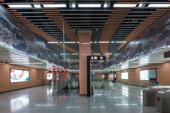 苏州地铁2号线通车运营 在全国地级城市中率先跨入地铁网络时代(组图)图片