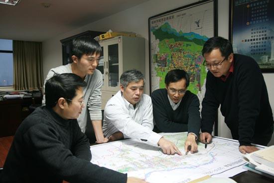 地铁 徐惠敏/铁四院郑州地铁1号线设计团队。(徐惠敏摄)
