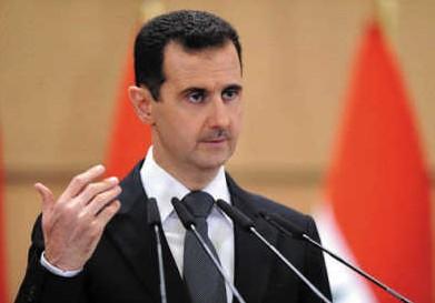叙利亚总统巴沙尔・阿萨德。