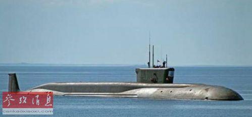 """""""北风之神""""级战略导弹核潜艇资料图片"""
