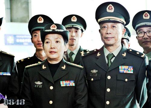 孙海英吕丽萍饰演极地军人