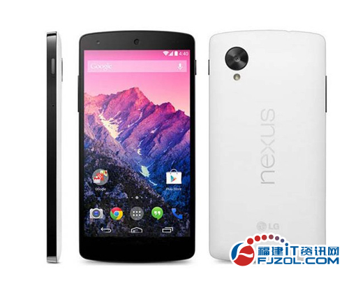 原生安卓堪称惊艳 LG Nexus 5报2880元
