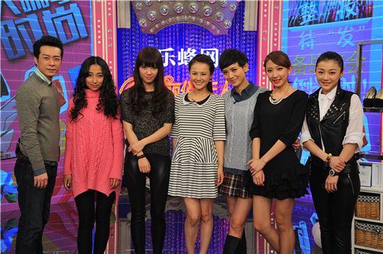 黑龙江卫视《美丽俏佳人》主持人与嘉宾合照