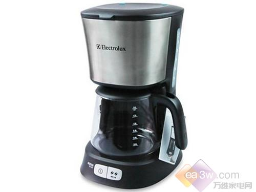 开启小资时代 伊莱克斯咖啡机热卖中