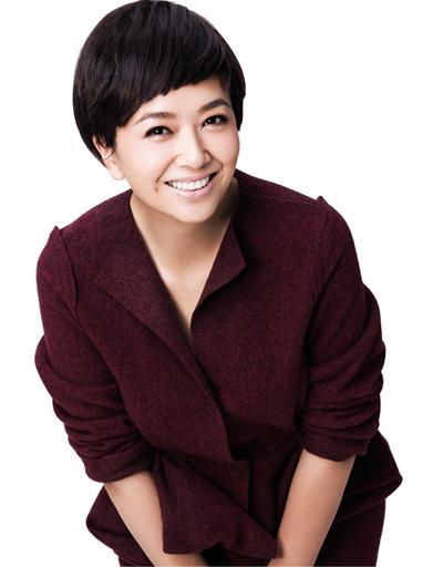 江珊甜美笑容