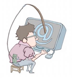 个人信息卡片漫画手绘