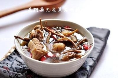 【茶树菇老鸭汤】茶树菇炖老鸭汤,茶树菇无花果老鸭汤,鸭炖茶树菇汤