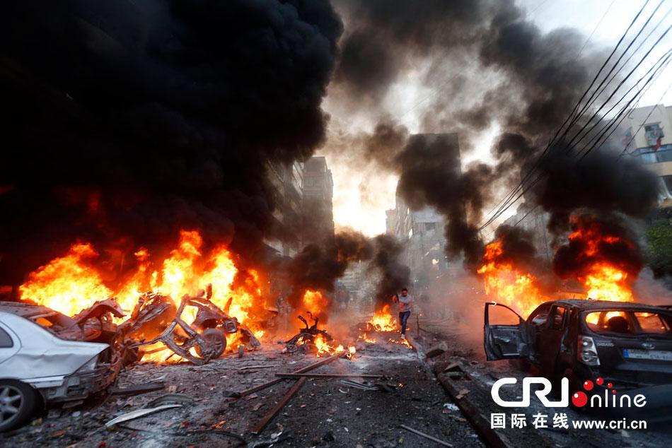 黎巴嫩首都爆炸已致70余人死亡