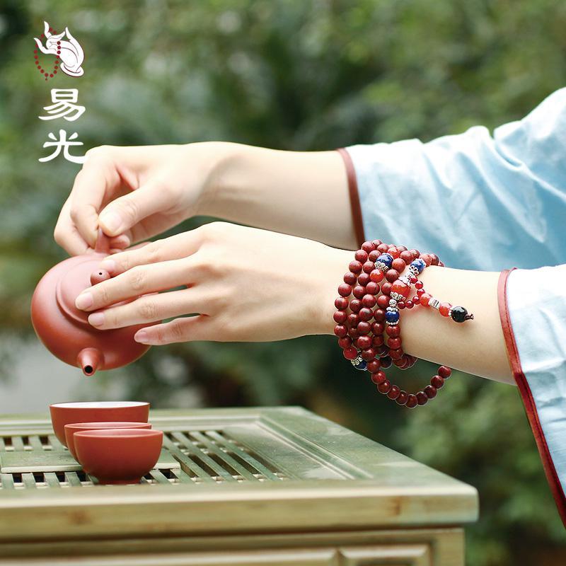 小叶紫檀保养及盘玩手珠(图)