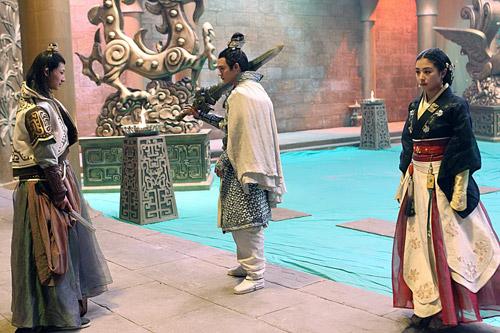 《兰陵王妃》无锡热拍图片