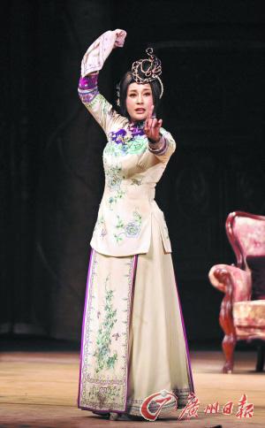 刘晓庆演一代名妓赛金花