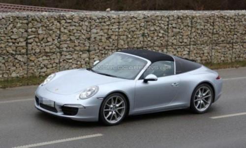 ...来全新一代的991 TARGA.   全新一代保时捷911TARGA