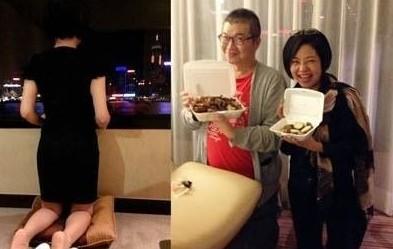 于美人的纤瘦背影级具说服力,教授此法的美食家徐天麟的大肚腩却引发网友质疑。