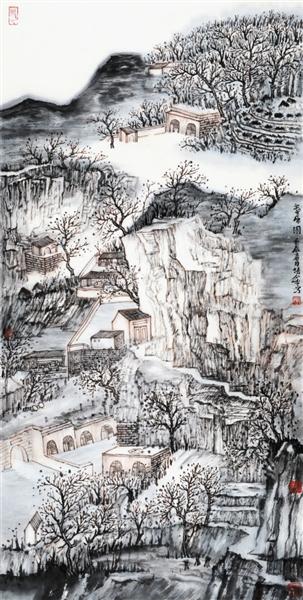 天津国画实力派画家精品展之中青年画家系列报道 画家肖培金坚守的山水知音