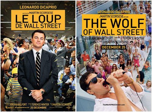 《华尔街之狼》海报