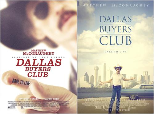 《达拉斯买家俱乐部》海报