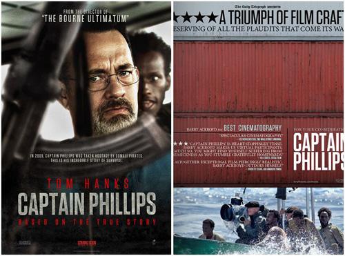 《菲利普斯船长》海报