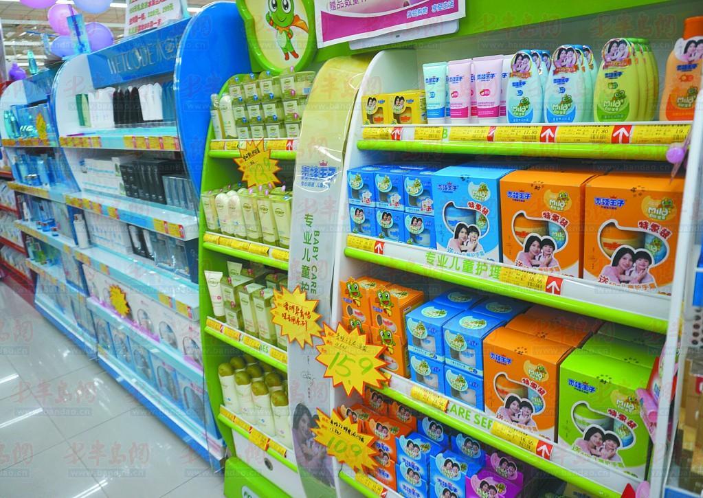 市场上的儿童护肤品种类繁多