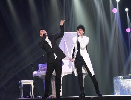 古巨基 李泉/89#《梦想星搭档》凭古巨基李泉击败《我是歌手2...