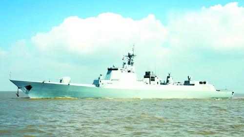 皇道金丹_中国最新型导弹驱逐舰海试画面公开(图)