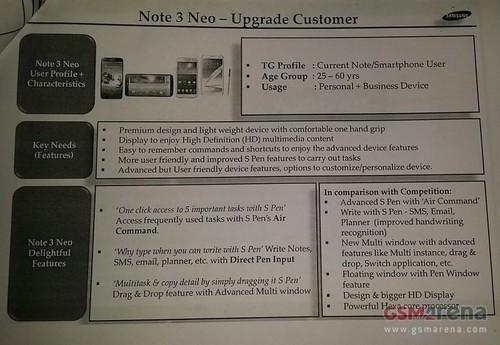 Note 3 Neo(目标人群)