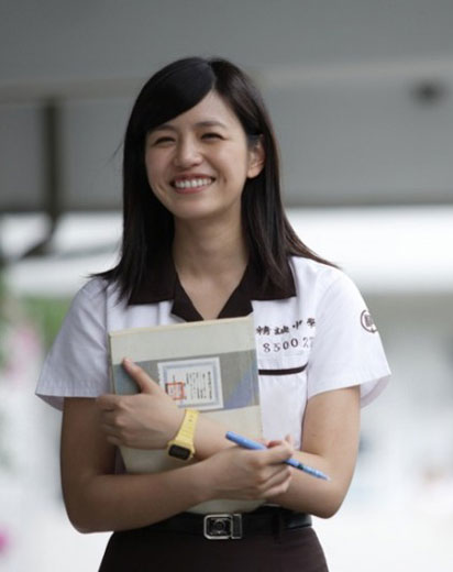 陈妍希,因为一部《那些年,我们一起追的女孩》而走红,沈佳宜一角让她成为了所有男生的梦中情人。