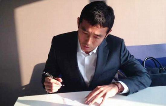 曹秉局签字正式完成合同签署