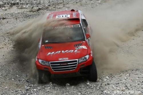 达喀尔第五赛段魔性凸显 哈弗车队总成绩升至第六