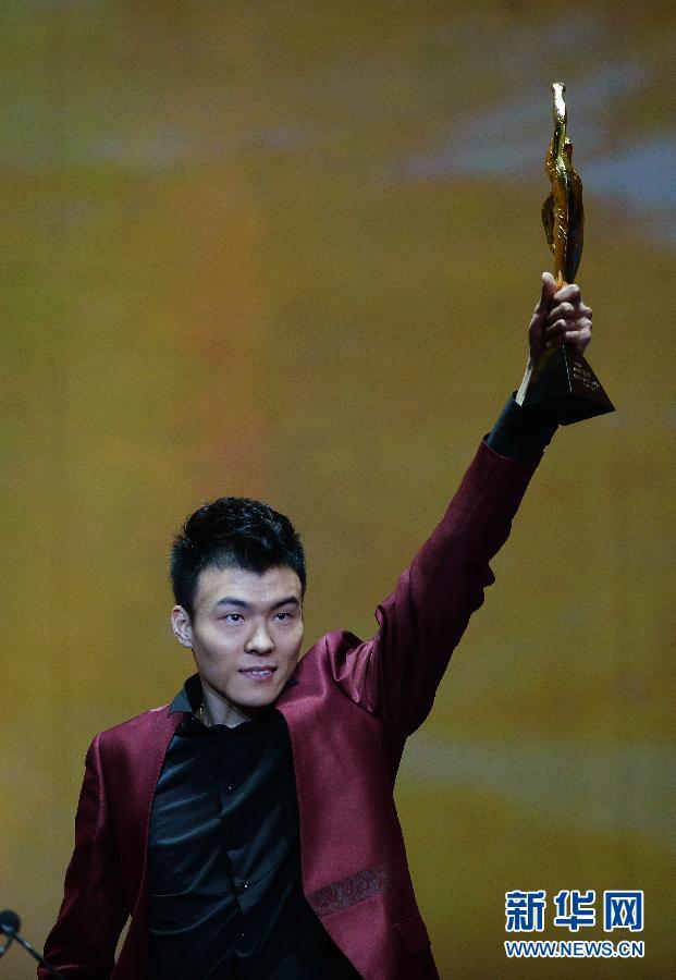 体坛风云人物颁奖:李娜林丹最佳 郭川特别贡献