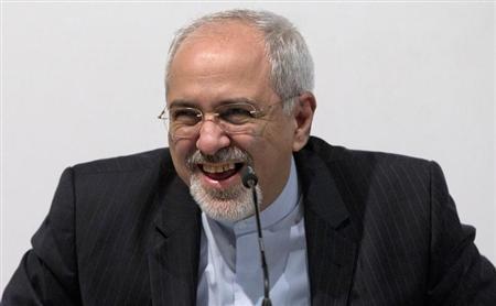 资料图:伊朗外交部长扎里夫。