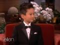 《艾伦秀第11季片花》加拿大5岁华裔钢琴神童激情演奏轰动全美