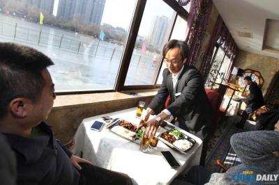 """北京/1月15日,北京紫竹院公园问月楼餐厅整改定位为""""茶餐厅"""",..."""